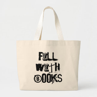 Encha com o bolsa dos livros