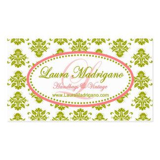 Encomenda especial para Laura Madrigano Modelos Cartões De Visitas