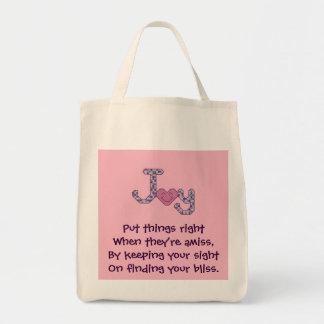 Encontrando seu saco da alegria da felicidade bolsa para compra