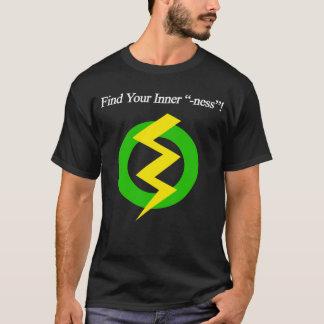 Encontre seu interno - Ness, você mim & t-shirt de Camiseta