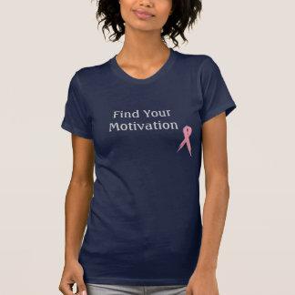 Encontre sua motivação camiseta
