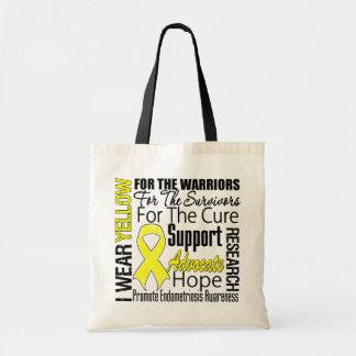 Endometriose eu visto o tributo amarelo da fita bolsa para compra