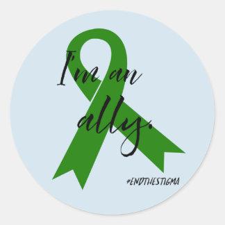 #EndtheStigma - etiquetas da consciência da saúde