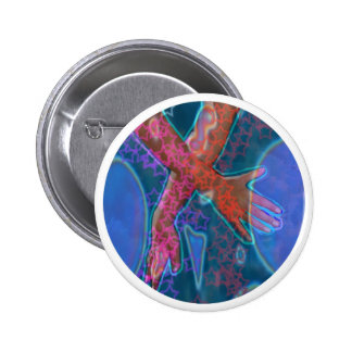 Energia cura cósmica de Reiki Bóton Redondo 5.08cm