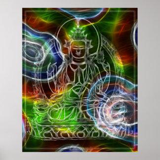 Energia de Chenrezig Poster