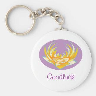 Energia de Goodluck HolyPurple Lotus Chaveiros