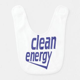 Energia limpa babador infantil
