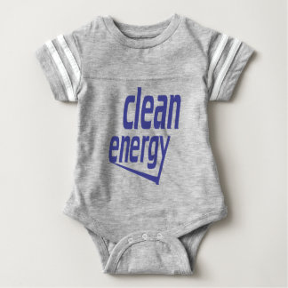 Energia limpa body para bebê