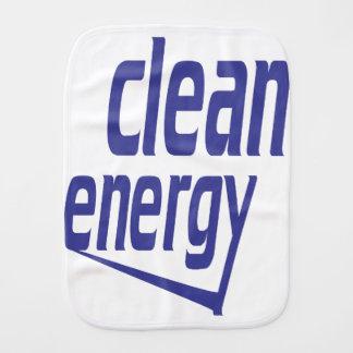 Energia limpa fraldinha de boca