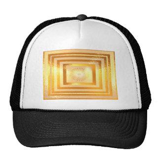 Energia morna dourada boné