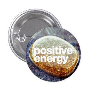 Energia positiva bóton redondo 2.54cm