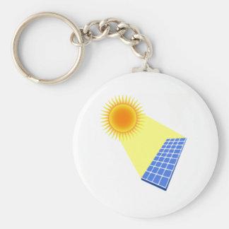 Energia solar chaveiro