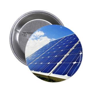 Energias solares verdes da energia boton