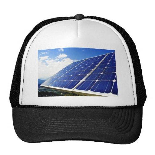 Energias solares verdes da energia boné