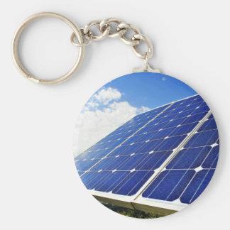 Energias solares verdes da energia chaveiros