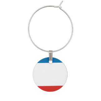 Enfeite De Taças De Vinho Bandeira de Crimeia