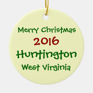 ENFEITES DE NATAL 2016 DE HUNTINGTON WEST VIRGINIA