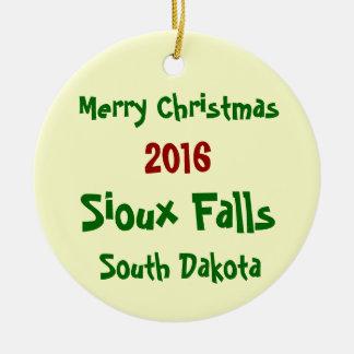 ENFEITES DE NATAL 2016 de Sioux Falls South Dakota