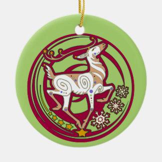 Enfeites de natal 2017 da rena de Holidaze do