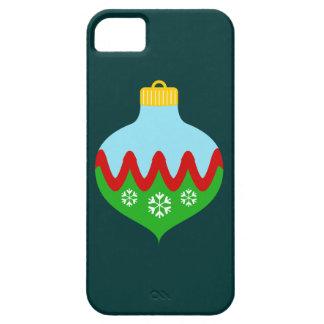 Enfeites de natal bonitos capa para iPhone 5