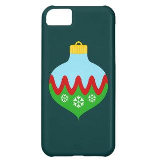 Enfeites de natal bonitos capa para iPhone 5C