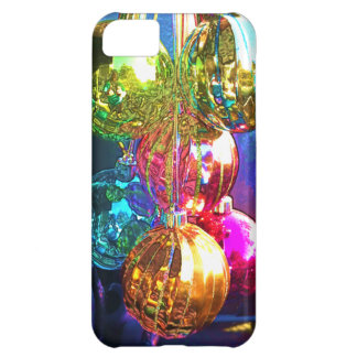 Enfeites de natal brilhantes capa para iPhone 5C