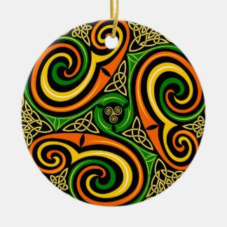 Enfeites de natal celtas do design