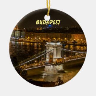 Enfeites de natal cénicos bonitos de Budapest