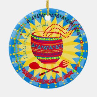 Enfeites de natal culinários mexicanos da boa