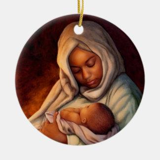 Enfeites de natal da arte da natividade do