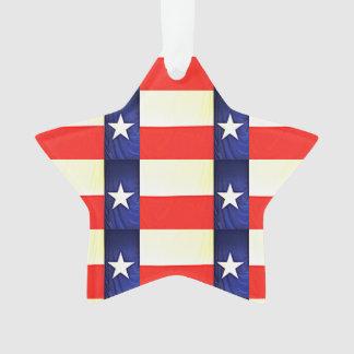 Enfeites de natal da bandeira de Texas