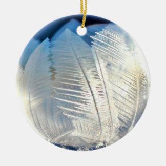 Enfeites de natal da bolha do cristal de gelo