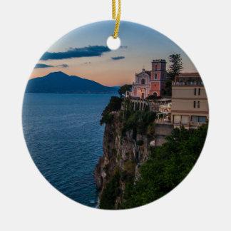 Enfeites de natal da costa de Amalfi