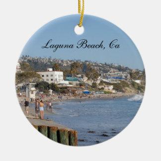 Enfeites de natal da foto do Laguna Beach