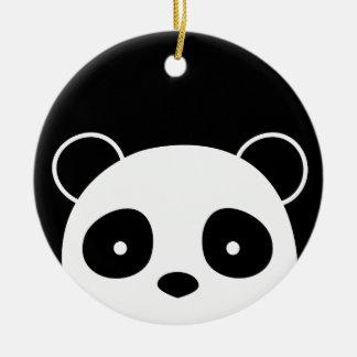Enfeites de natal da panda, decorações do Natal