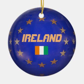 Enfeites de natal da União Europeia de Ireland