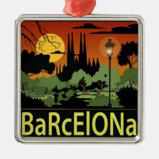 Enfeites de natal de Barcelona