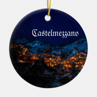 Enfeites de natal de Castelmezzano