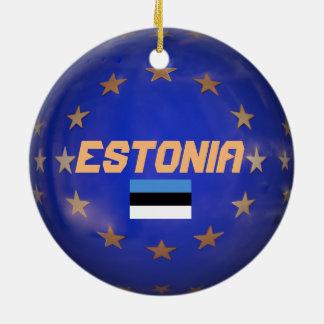Enfeites de natal de Estónia UE Costume