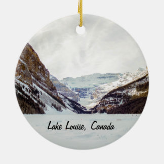 Enfeites de natal de Lake Louise