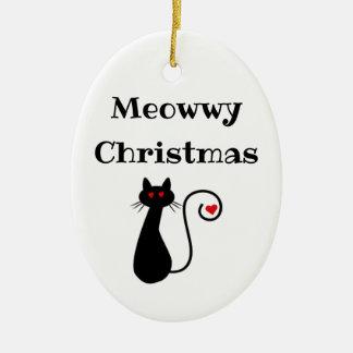 Enfeites de natal de Meowwy
