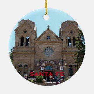 Enfeites de natal de Santa Fé New mexico
