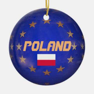 Enfeites de natal de UE Costume do Polônia
