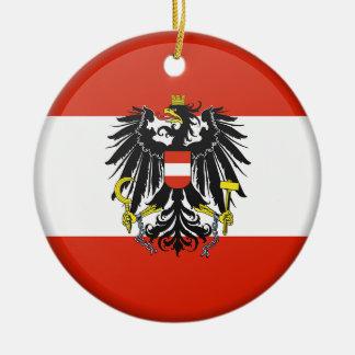 Enfeites de natal do costume de Áustria