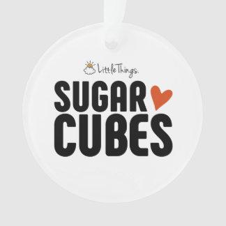 Enfeites de natal do cubo do açúcar