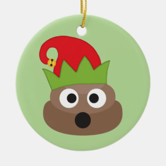 Enfeites de natal do duende de Emoji do tombadilho