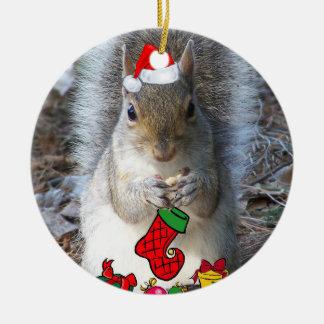 Enfeites de natal do esquilo