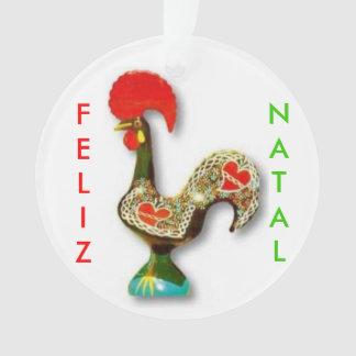 Enfeites de natal do galo de Portuguese*