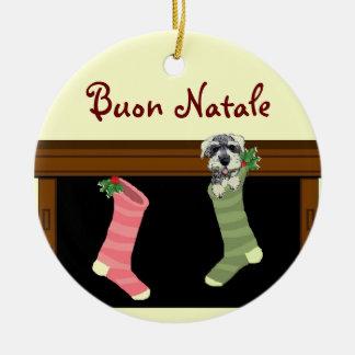 Enfeites de natal do italiano de Buon Natale