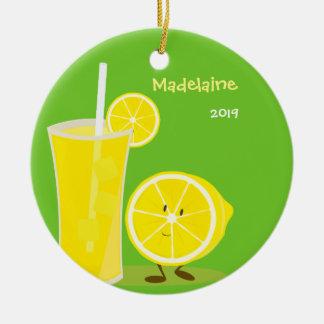 Enfeites de natal do limão e da limonada |